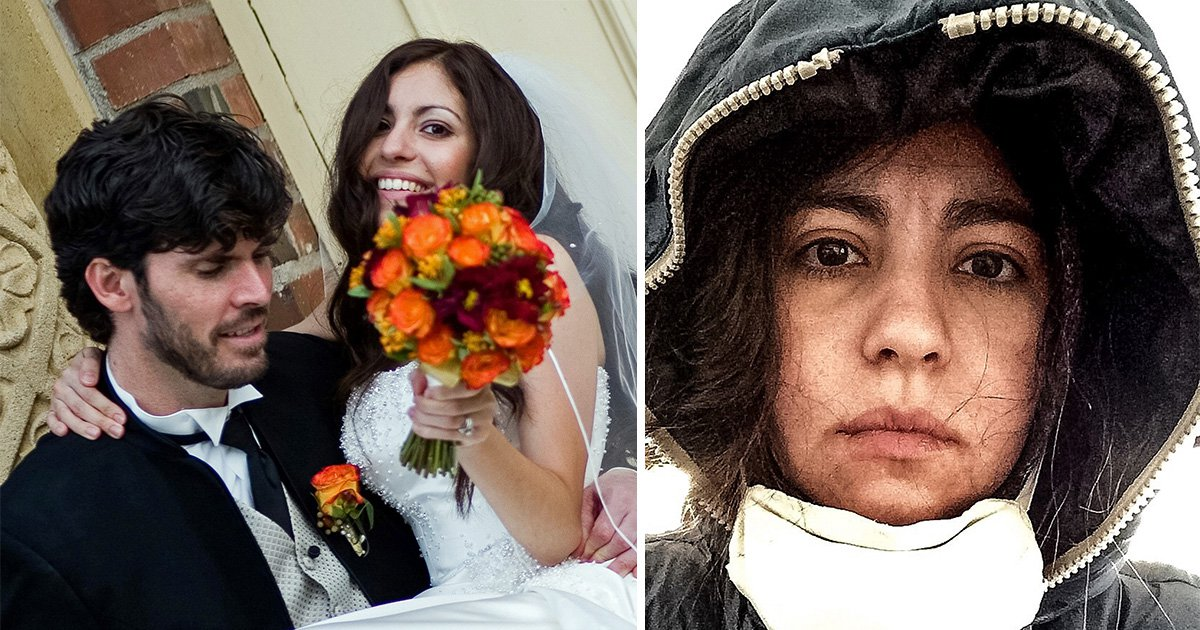 This woman is allergic to her husband after being exposed to a deadly gas leak