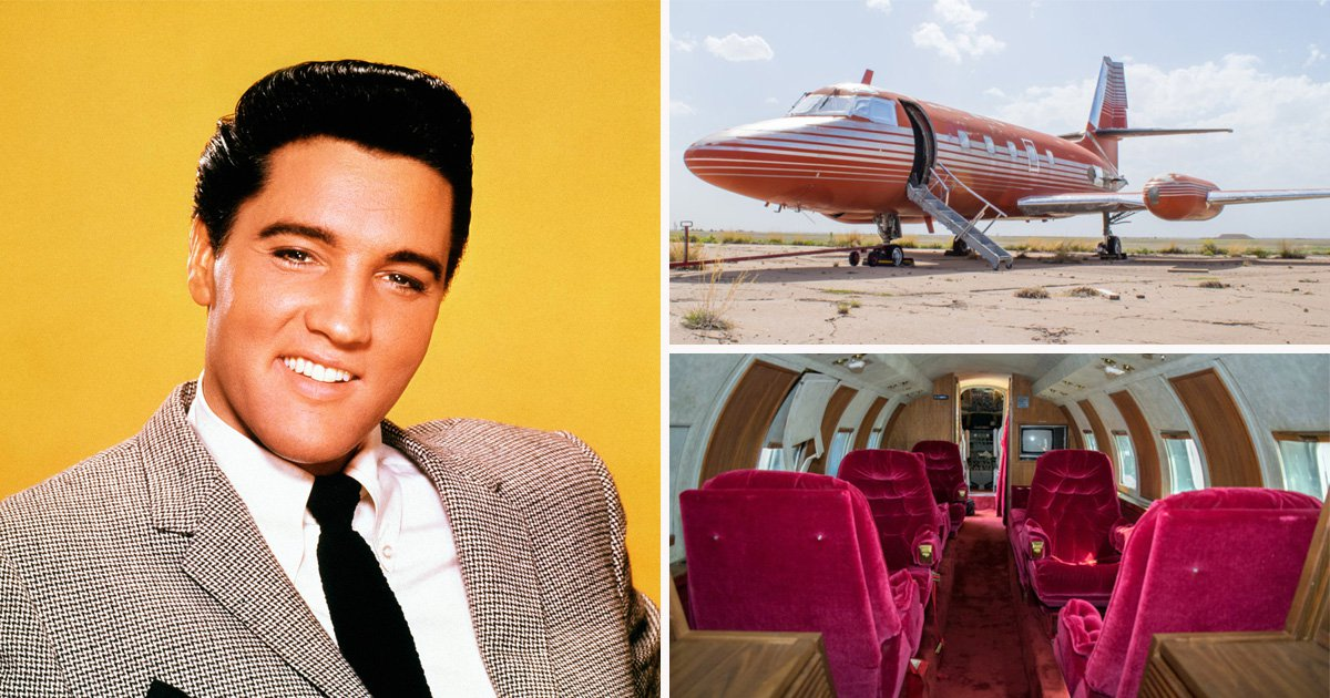 Elvis Presley's last private jet is up for auction and could fetch up to £2.6 million