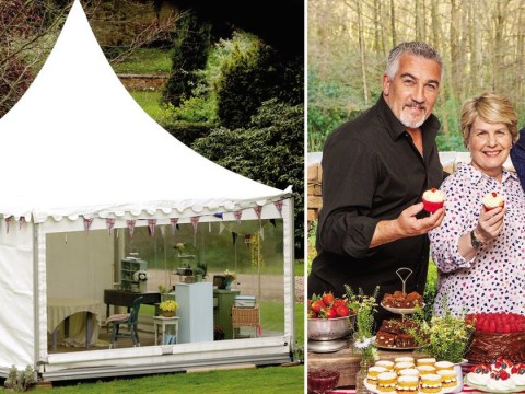 Get your first look at Channel 4's new Great British Bake Off tent