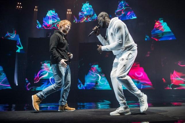 Ed Sheeran and Stormzy