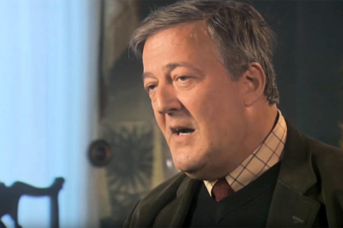 Irish police drop blasphemy case against Stephen Fry