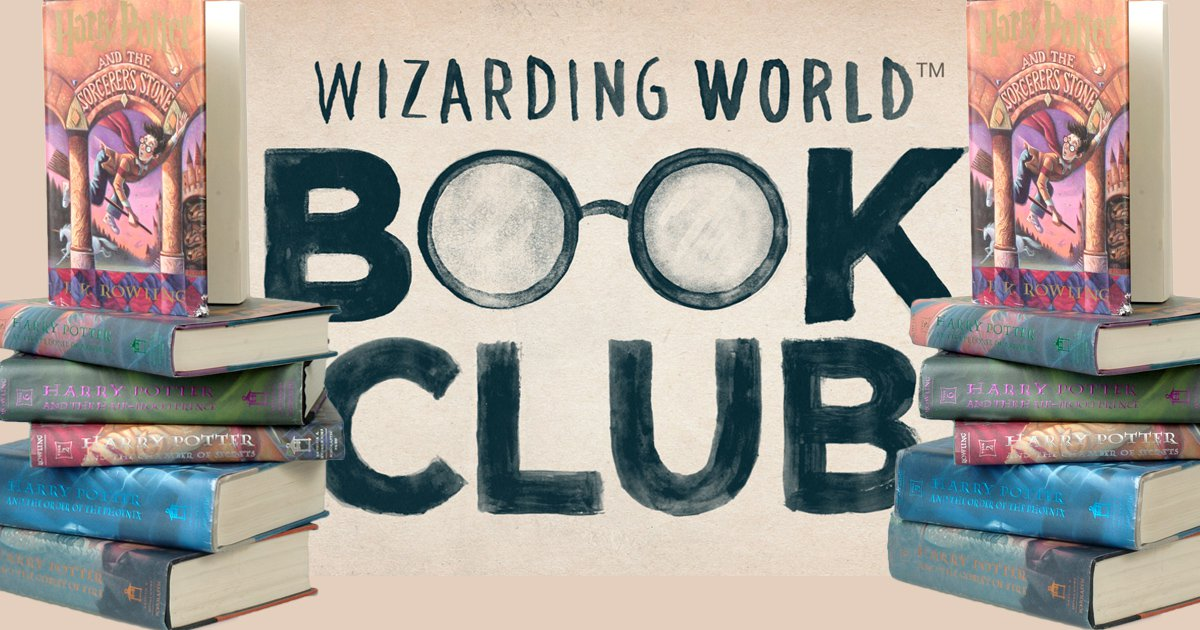 An official 'Wizarding World Book Club' has been announced on Pottermore