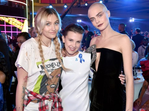 All the celebs cool enough to hang out with Millie Bobby Brown at the MTV Movie And TV Awards