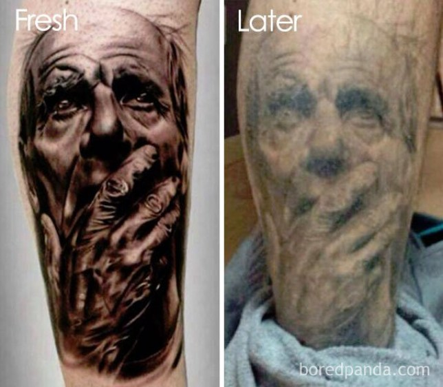Do tattoos fade? People show off how their tattoos haven\'t stood the ...