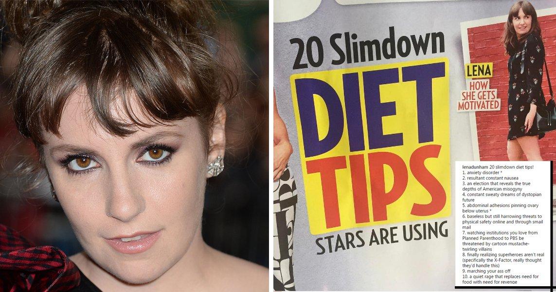 Girls creator Lena Dunham slams magazine for calling her a 'slimmed-down' cover star