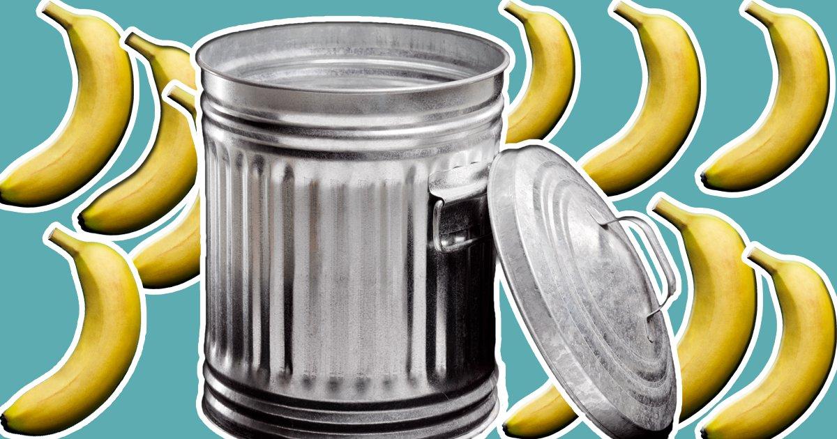 Brits throw away £80 million worth of bananas each year