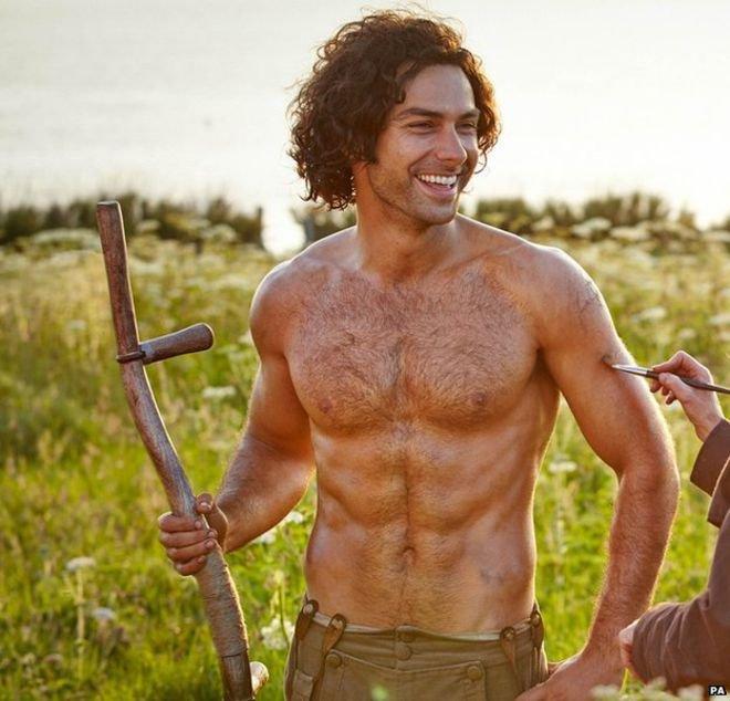 Poldark boss defends 'objecitfying' star Aidan Turner in shirtless scenes: 'We've been quite modest'