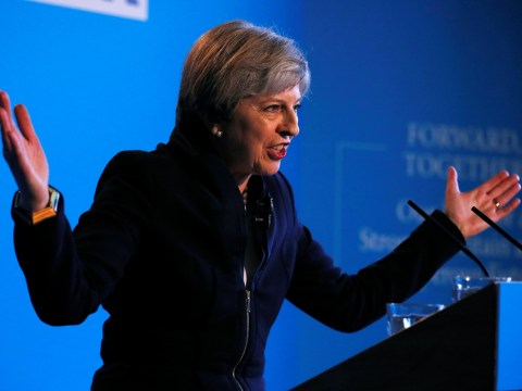 Theresa May warns Britain faces 'most challenging period' in a lifetime