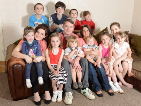 Britain's biggest family welcomes 20th baby but says he will be their last