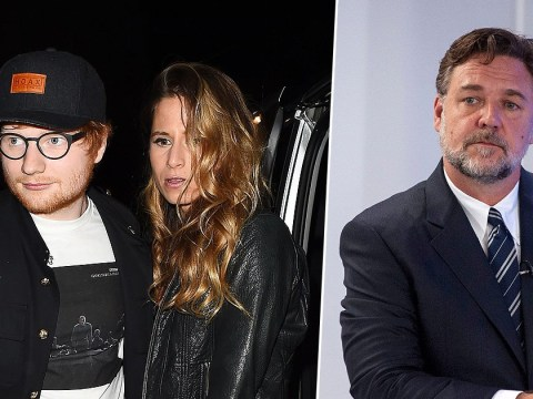 Did Russell Crowe just accidentally confirm Ed Sheeran has proposed to girlfriend Cherry Seaborn?