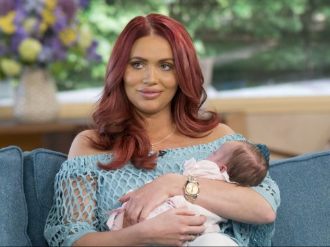 Amy Childs admits she's 'crazy' falling pregnant less than a year after welcoming daughter