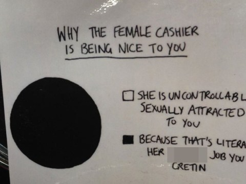 Bar displays brilliant sign to make customers think twice before harassing bar staff