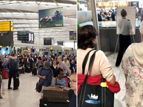 Hundreds of bags left 'unattended' as British Airways experience global system crash