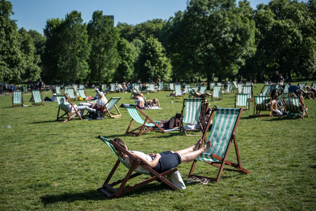 Brits couldn't get enough of the amazing Bank Holiday weather