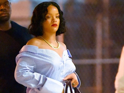 Rihanna claps back at body-shamers with savage meme after blogger claimed she was wearing a 'sumo suit'