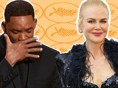 Watch Will Smith pretend to cry as he accepts Nicole Kidman's surprise award at 2017 Cannes Film Festival