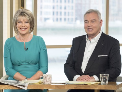 Eamonn Holmes winds up Ruth Langsford on This Morning by 'considering' having an affair