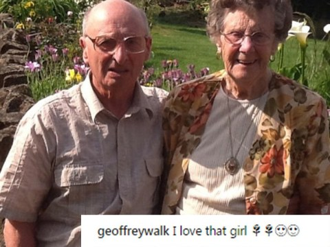 86-year-old man's Instagram account is full of adorable posts about his wife