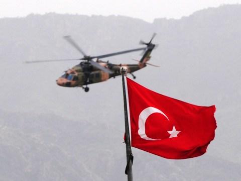 Thirteen soldiers die in helicopter crash on Turkish border