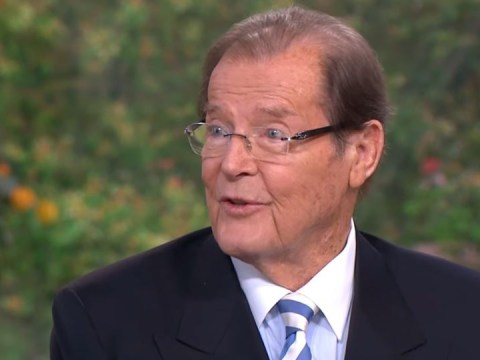 Sir Roger Moore's final appearance on This Morning saw him laughing and joking all the way through