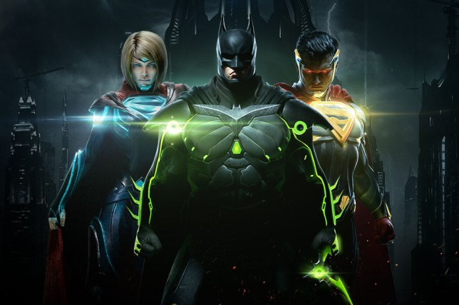 Injustice 2 key art