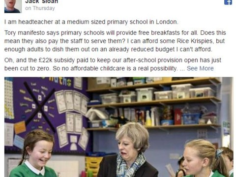 Headteacher writes powerful open letter to 'lunch snatcher' policy