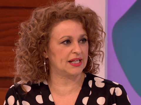 Loose Women's Nadia Sawalha opens up about her husband's struggles with alcohol addiction after being inspired by Brad Pitt