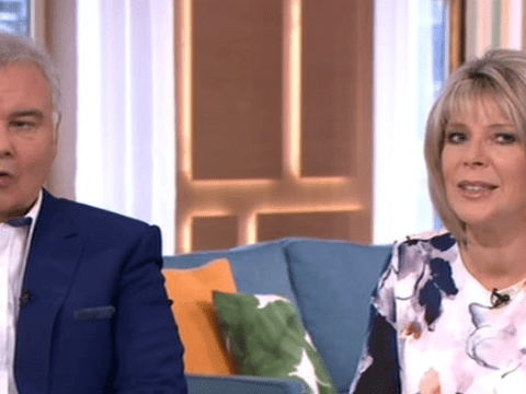 Ruth Langsford swiftly shuts down suggestions she and Eamonn Holmes might renew their wedding vows