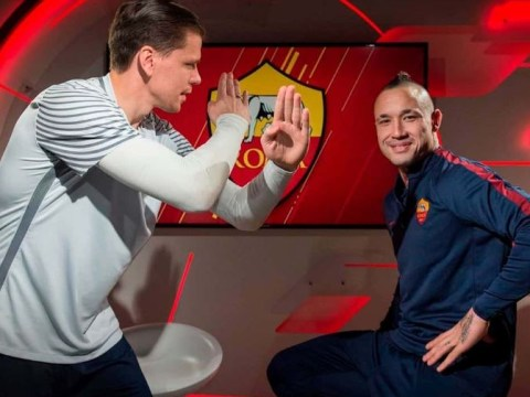 Wojciech Szczesny tells Chelsea target Radja Nainggolan to reject Arsenal