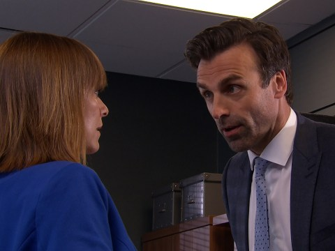 Emmerdale spoilers: Pierce Harris is charged with rape tonight as Rhona Goskirk stands up to his bullying