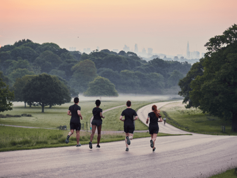 The top five running routes for seeing some really stellar sunrises and sunsets over London