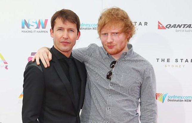 James Blunt reveals exactly what he and Ed Sheeran get up to on tour and it involves tea