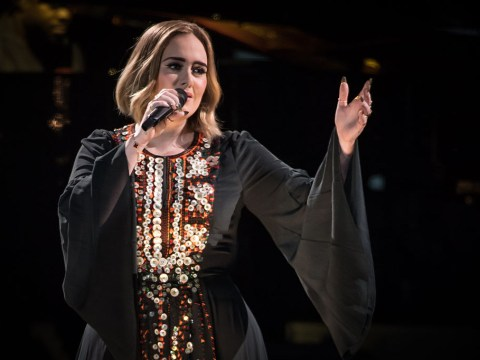 Adele visits Grenfell Tower to comfort people at the scene of the fire
