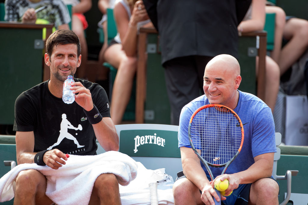 Novak Djokovic confirms Andre Agassi partnership extension beyond the French Open