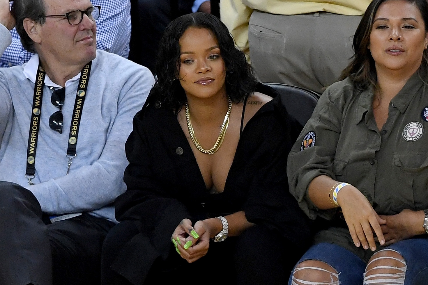 Rihanna helped a fan with his heartbreak and what she says is amazing