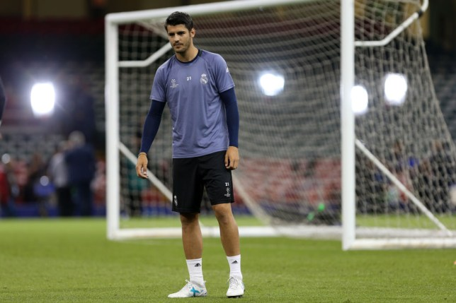 Alvaro Morata dismisses transfer links to Chelsea and Manchester United