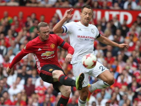 John Terry mercilessly booed by Manchester United fans during Michael Carrick testimonial