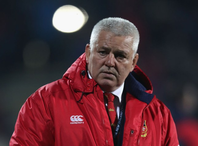 Gatland hinted as far back as September that he would use this tactic to strengthen his squad (Picture: Getty Images)