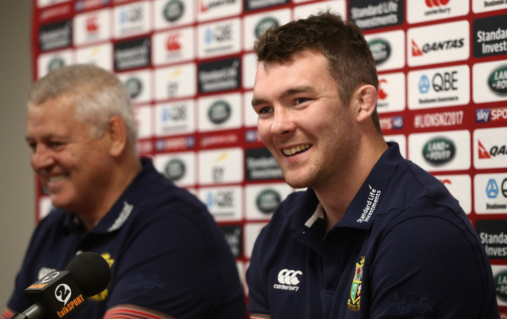 Peter O'Mahony to lead Lions for first Test against world champions New Zealand