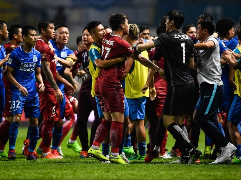 Ex-Chelsea player Oscar slapped with eight-game ban for sparking mass brawl in Chinese Super League