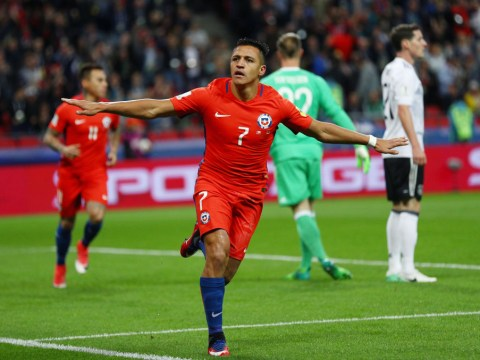 Arsenal's Alexis Sanchez becomes Chile's all-time leading goalscorer