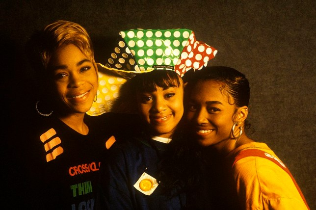 TLC have put the late Lisa 'Left Eye' Lopes on their new