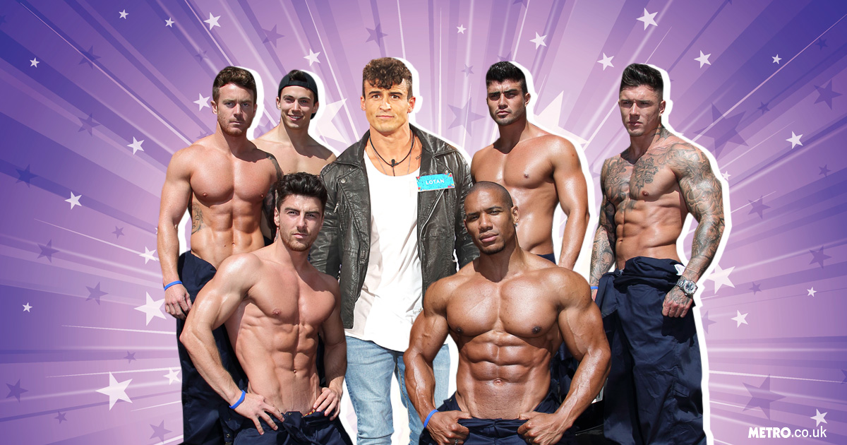 Big Brother's Lotan Carter dropped by stripping sensations The Dreamboys