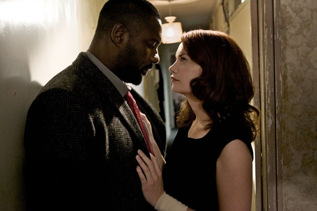 Television Programme: Luther with John Luther as Idris Elba and Alice Morgan as Ruth Wilson. **THIS IMAGE IS UNDER STRICT EMBARGO UNTIL 00:01HRS 14th JUNE 2011** Picture shows: DCI John Luther (IDRIS ELBA) and Alice Morgan (RUTH WILSON) (c) BBC TX: BBC One, TBC 2011