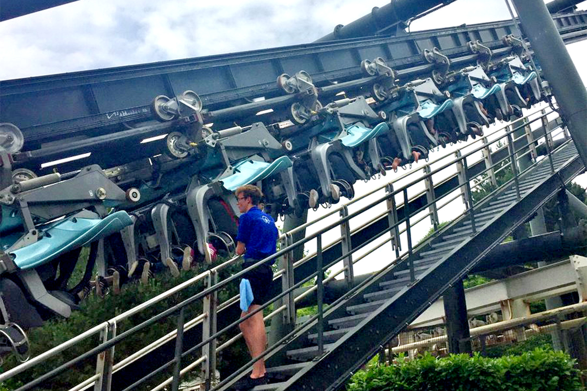 Riders 'left stranded' after Alton Towers Galactica ride breaks down