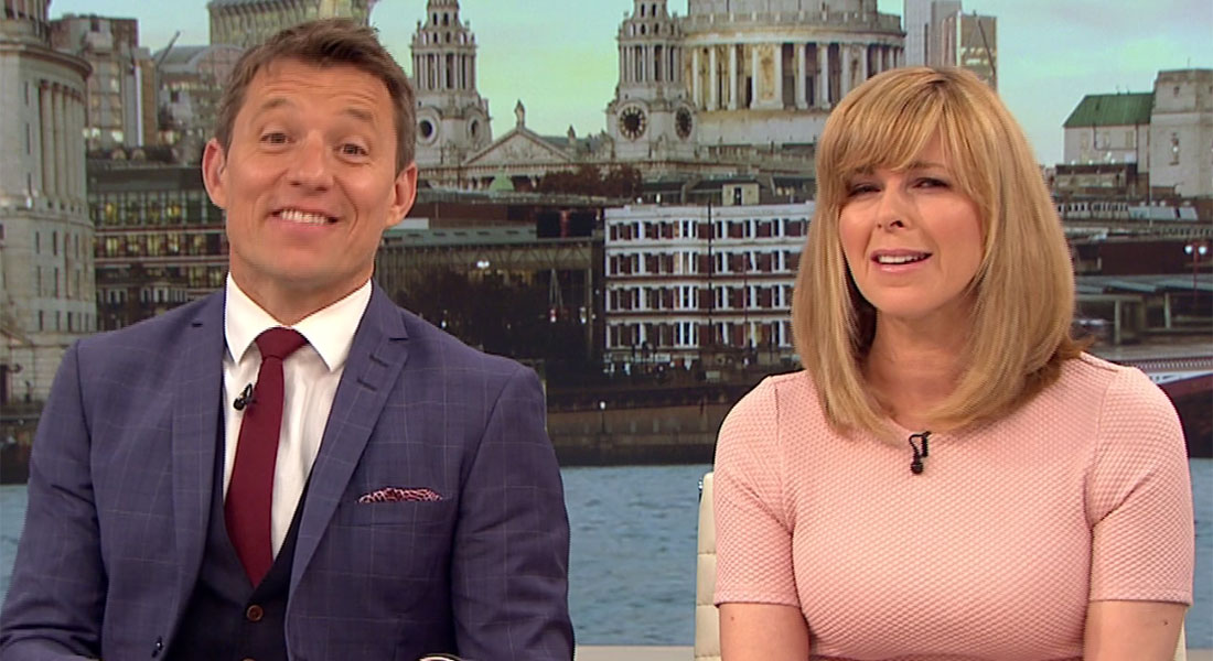 'I shouldn't have said that out loud': Ben Shephard red-faced after saucy balls quip with Laura Tobin