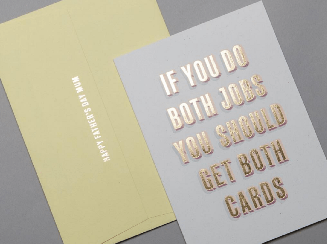 This brilliant Instagram account is selling father's day cards for single mums