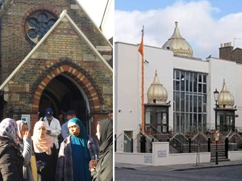 Mosques, temples and churches open their doors to help Grenfell Tower residents