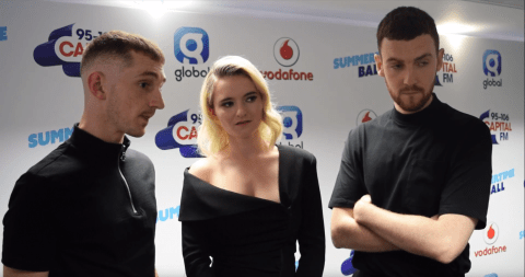 Clean Bandit speak of their election confusion and terror defiance at Capital's Summertime Ball