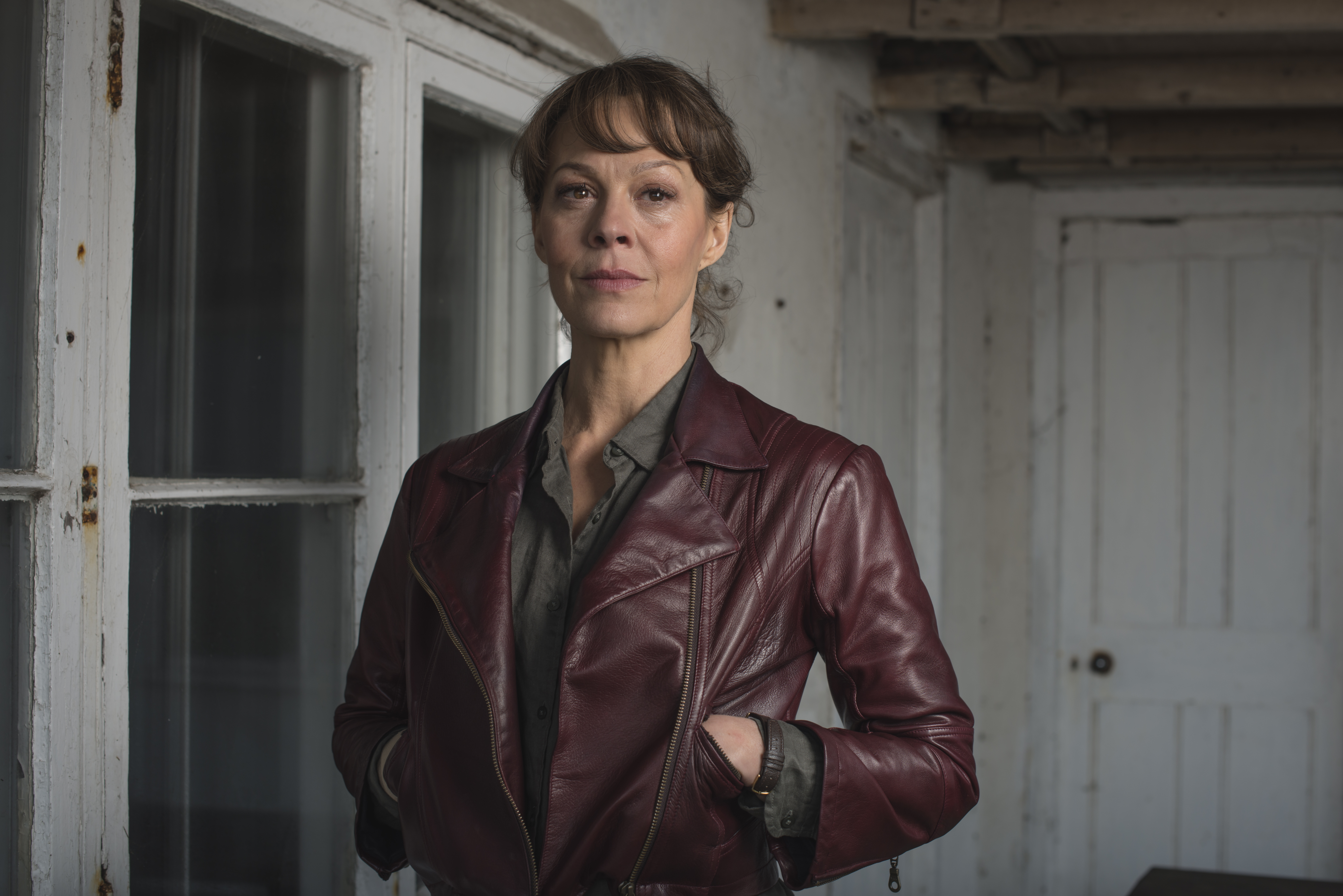 Scenes in new Helen McCrory drama Fearless were re-shot to include Donald Trump references